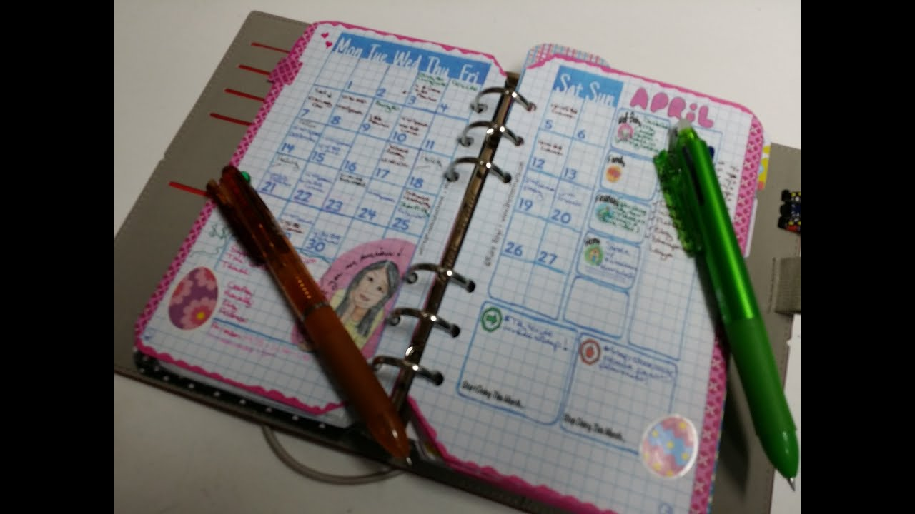 My Updated Bullet Journal Set Up in a Filofax Personal Domino ...