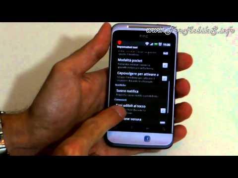 Excursus su impostazioni e gestione della memoria interna di HTC Salsa C510e
