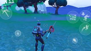 Fortnite Mobile 90s 2 thumbs 3 fingers for aim and crouch