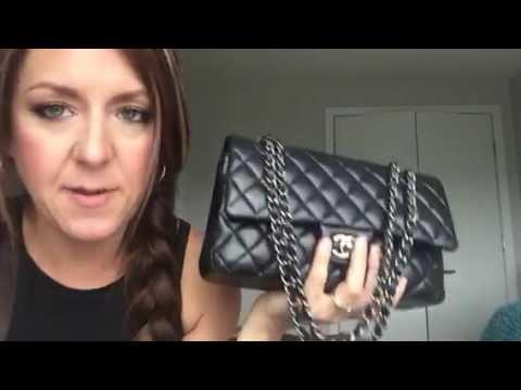 Wear and tear if my lambskin Chanel Classic Flap - YouTube cf41dd7a48