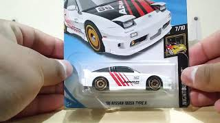 Hot Wheels Nissan 180SX Type X…
