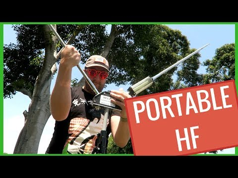 MFJ-2289 Big Ears Portable Ham Radio Antenna Review