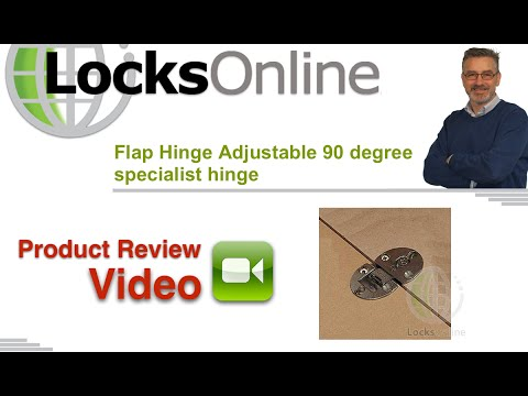 Flap Hinge Adjustable 90 Degree Specialist LocksOnline Product Reviews