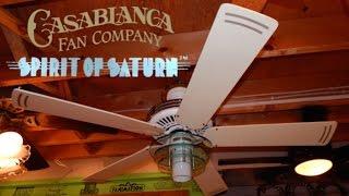Casablanca Spirit of Saturn Ceiling Fan | 1080p HD Remake