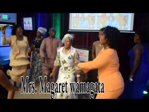 Magaret Wamagatas' CD Launch