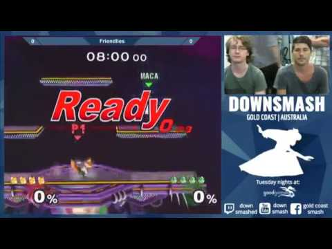 Puff Brandina.Brandino Fox Vs Maca Puff Downsmash 28th March 2017 Youtube