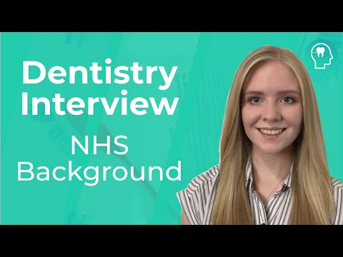 Dentistry Interview: Background Of The NHS | Medic Mind