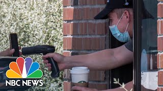 Starbucks CEO Says Company 'Constantly Adapting' Amid Pandemic | NBC News NOW