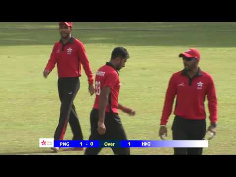 3rd ODI: HKG v PNG (Part 1)