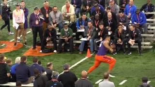 Clemson NFL Pro day highlights