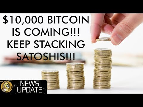 Bitcoin Price Moving Towards $10,000, Keep Stacking Satoshis!