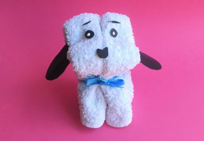 Come realizzare un cagnolino con un asciugamano youtube for Animali con asciugamani