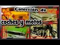 Colección de coches, motos y otras manualidades.