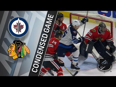 03/29/18 Condensed Game: Jets @ Blackhawks
