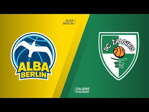 ALBA Berlin - Zalgiris Kaunas Highlights | Turkish Airlines EuroLeague, RS Round 17