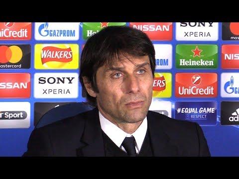 Chelsea 1-1 Barcelona - Antonio Conte Full Post Match Press Conference - Champions League