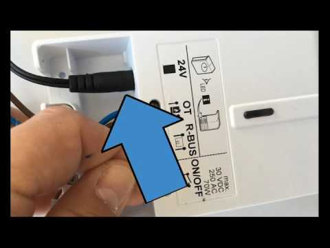 video tutorial collegamento kit adattatore a caldaia baxi