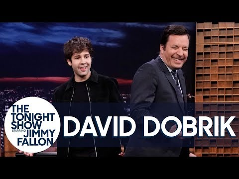 David Dobrik Reenacts the Moment Justin Bieber Tickled Him at the Club