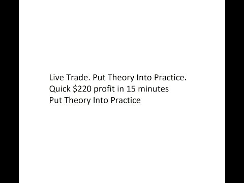Live Trading Bitcoin. Put Theory Into Practice. Quick $220 profit in 15 minutes