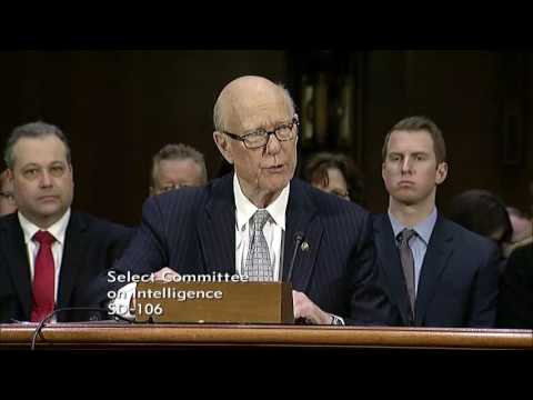 Senator Pat Roberts Introduces Rep. Mike Pompeo to become CIA Director