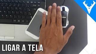 Como ligar a tela passando a mão em cima do ANDROID
