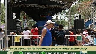 No dia das crianças, parque Cidade da criança tem programação especial