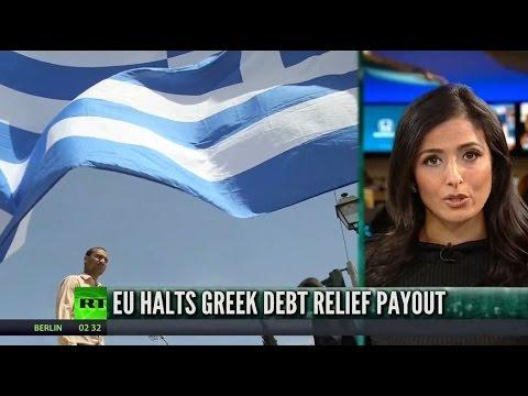 [740] EU halts Greek debt relief payments over pension bonus plan
