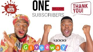 AFRICAN HOME: 1 MILLION SUBSCRIBERS + GIVEAWAY