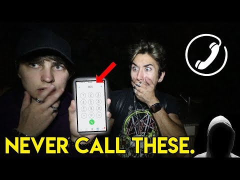 CALLING TERRIFYING PHONE NUMBERS pt. 3 (STALKER)