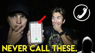 One of Colby Brock's most viewed videos: CALLING TERRIFYING PHONE NUMBERS pt. 3 (STALKER)