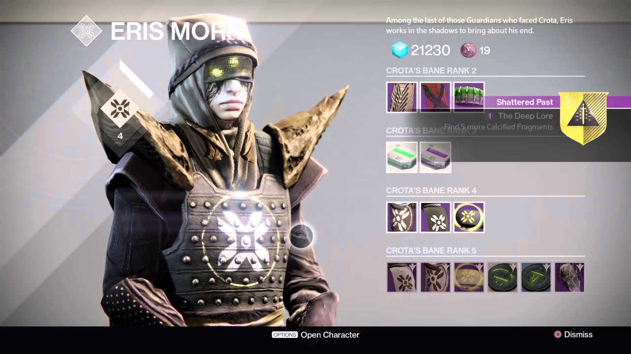 Destiny - Touch of Malice Quest Part 1: Shattered Past - The Deep ...