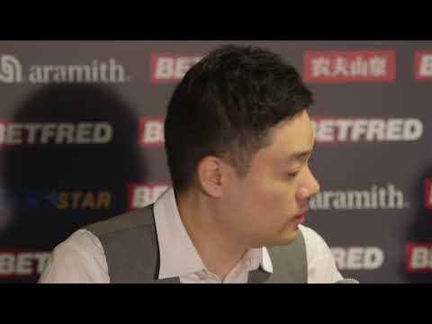 Ding Junhui knocked out by Judd Trump - Betfred World Snooker Championship