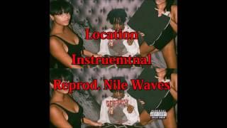 Playboi Carti-Location(Instrumental)(Reprod. Nile Waves)