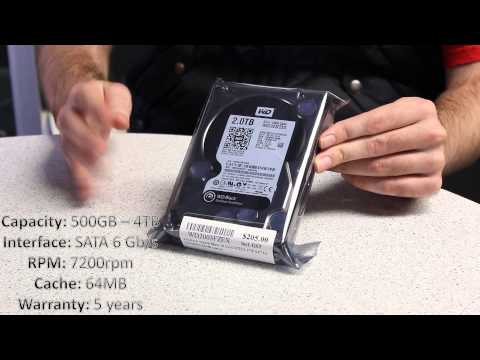 WD Drives Explained - WD Blue, Green, Black, Red and Purple!