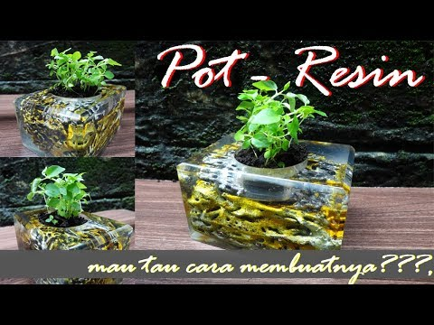 HOW TO MAKE RESIN POTS bahasa indonesia