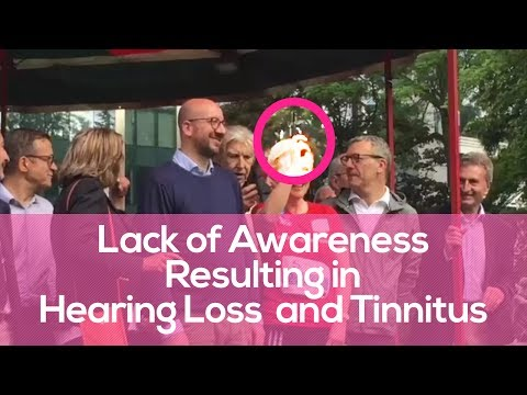 Prime Minister of Belgium (Charles Michel) Suffers Hearing Loss & Tinnitus