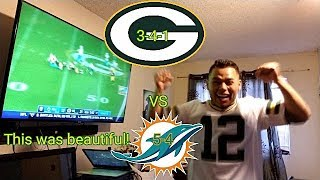 Packer vs Dolphins Reaction!