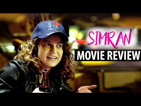 Simran : First Day First Show Movie Review   Kangna Ranaut , Hansal Mehta