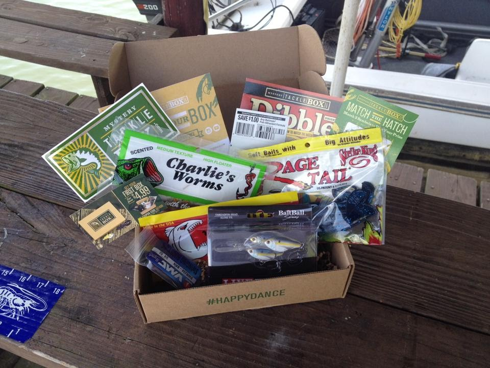 Mystery Tackle Box Unboxing July 2015 Youtube