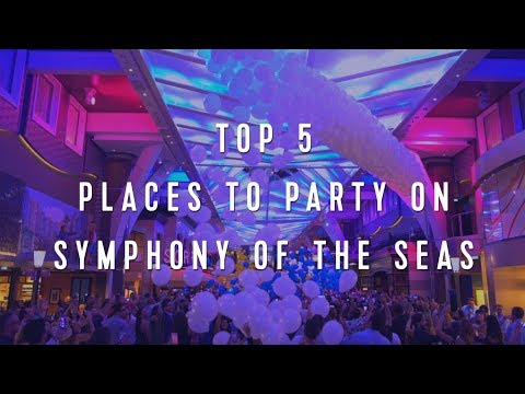 Royal Caribbean Top 5: Places to Party on Symphony of the Seas