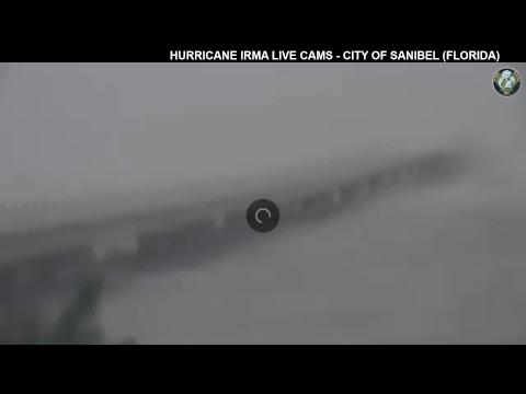 Hurricane Irma Webcams - Sanibel (Florida) - Causeway