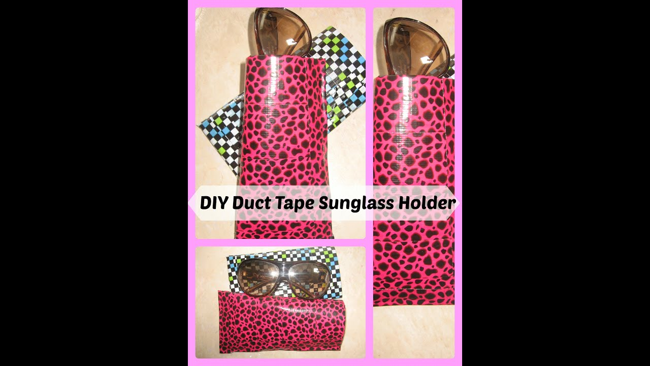 handmade crafts ideas to sell diy duct sunglass or eye glass holder duct 6690