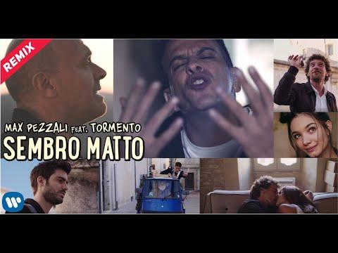 Смотреть клип Max Pezzali Ft. Tormento - Sembro Matto | Remix