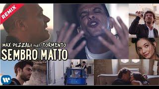 Смотреть клип Max Pezzali Ft. Tormento - Sembro Matto   Remix