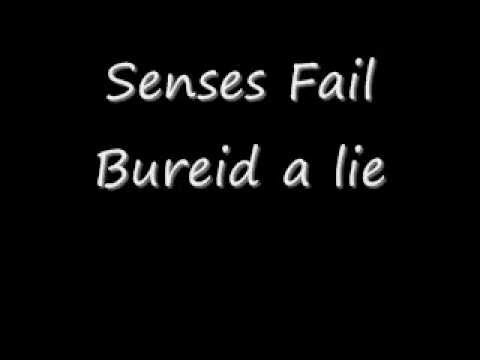 Senses Fail - Buried a Lie (lyrics)