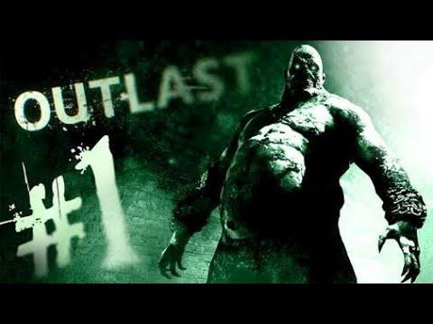 Outlast Part 1 [ HORRIBLE MOMENT & RUNWAY SCENE ] OMG!!