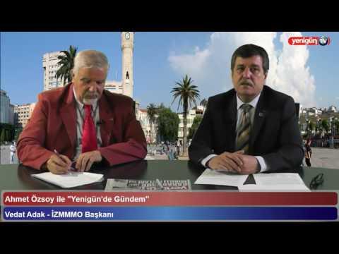 Oda Başkanımız Vedat ADAK'ın Yenigün TV Röportajı