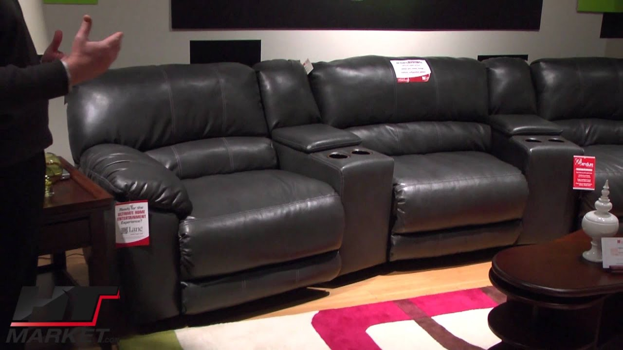 lane rivers home theater sectional by lane furniture the rivers youtube. Black Bedroom Furniture Sets. Home Design Ideas