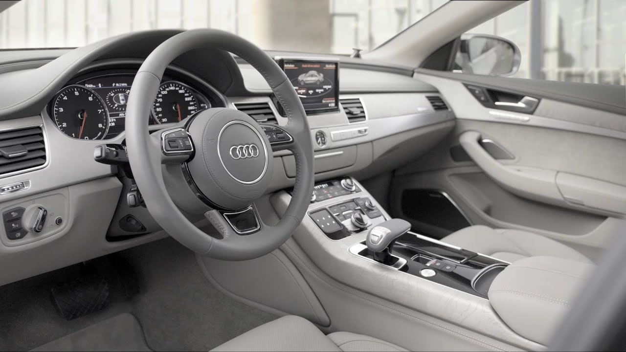 Audi A L W INTERIOR YouTube - Audi a8 w12
