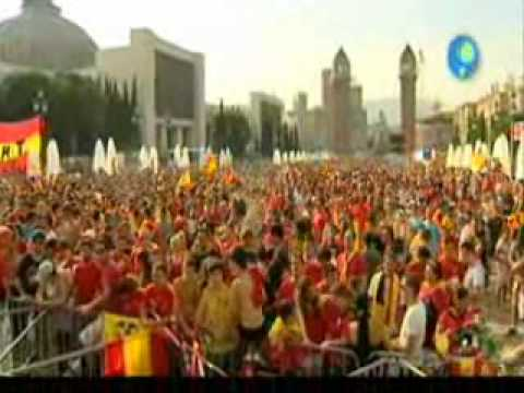 Catalunya y La Roja (La Noria 17/7/2010)  parte 1 de 3